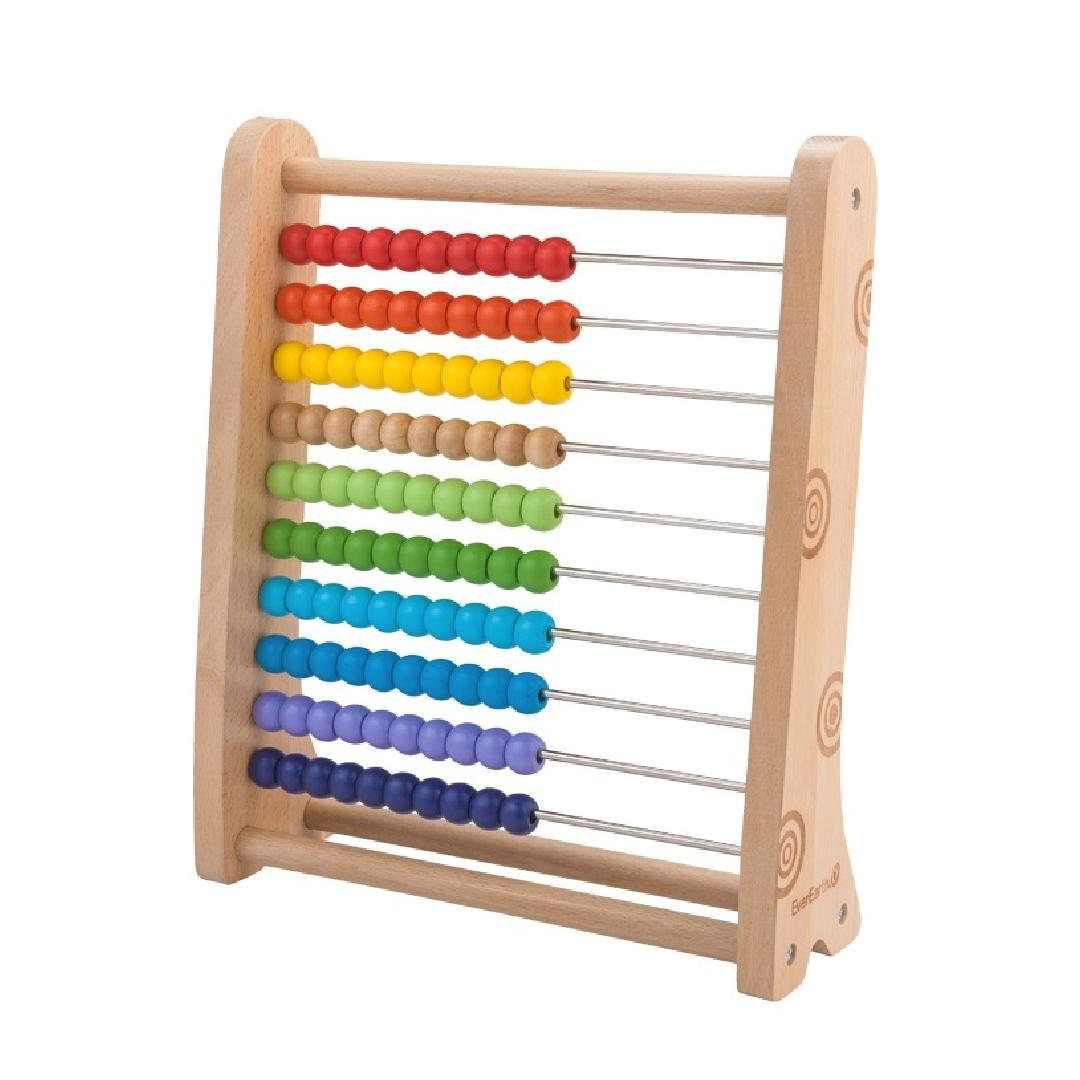 Large Wooden Abacus