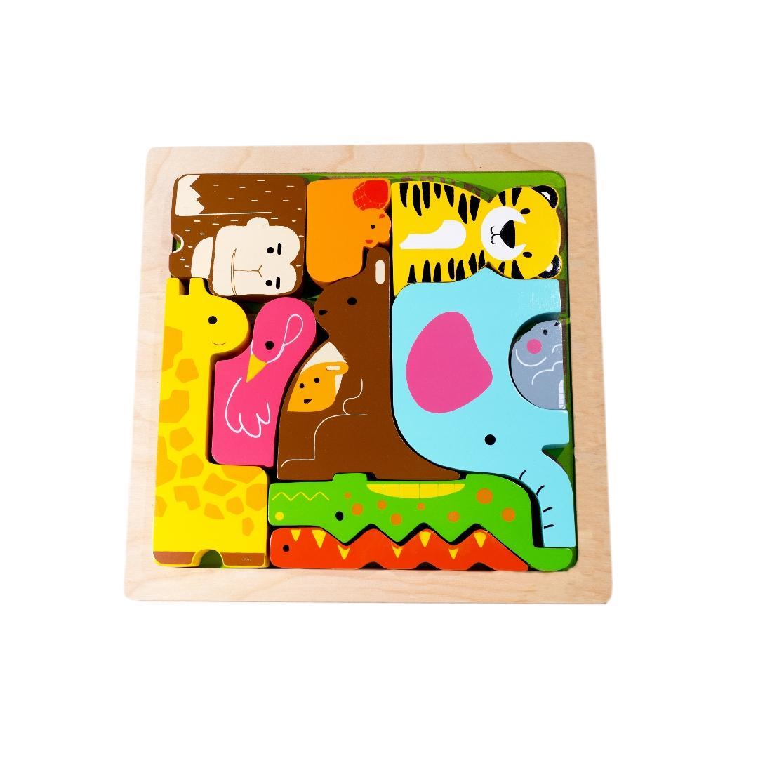 Wild Animals Chunky Puzzle