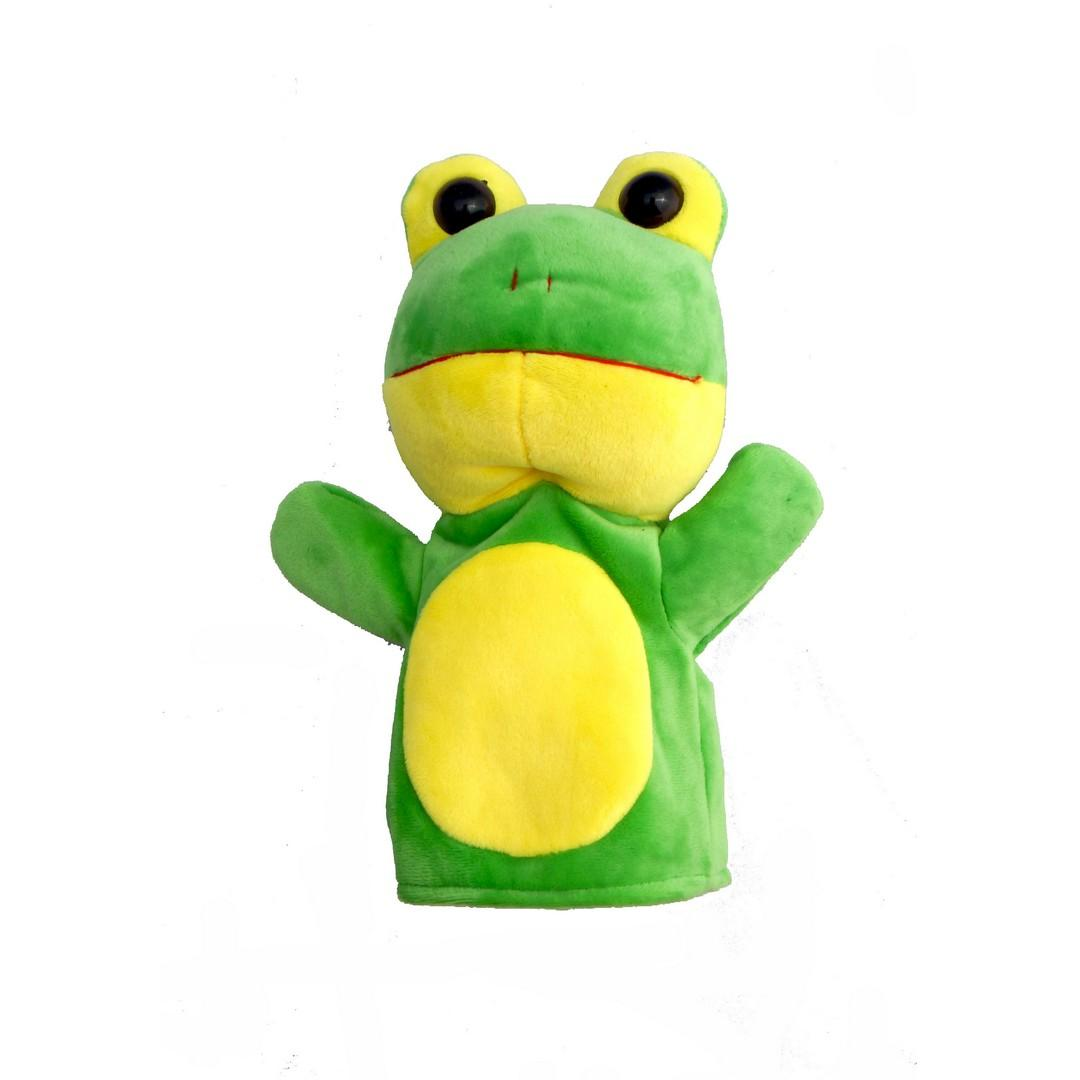 Baby Hand Puppet Frog