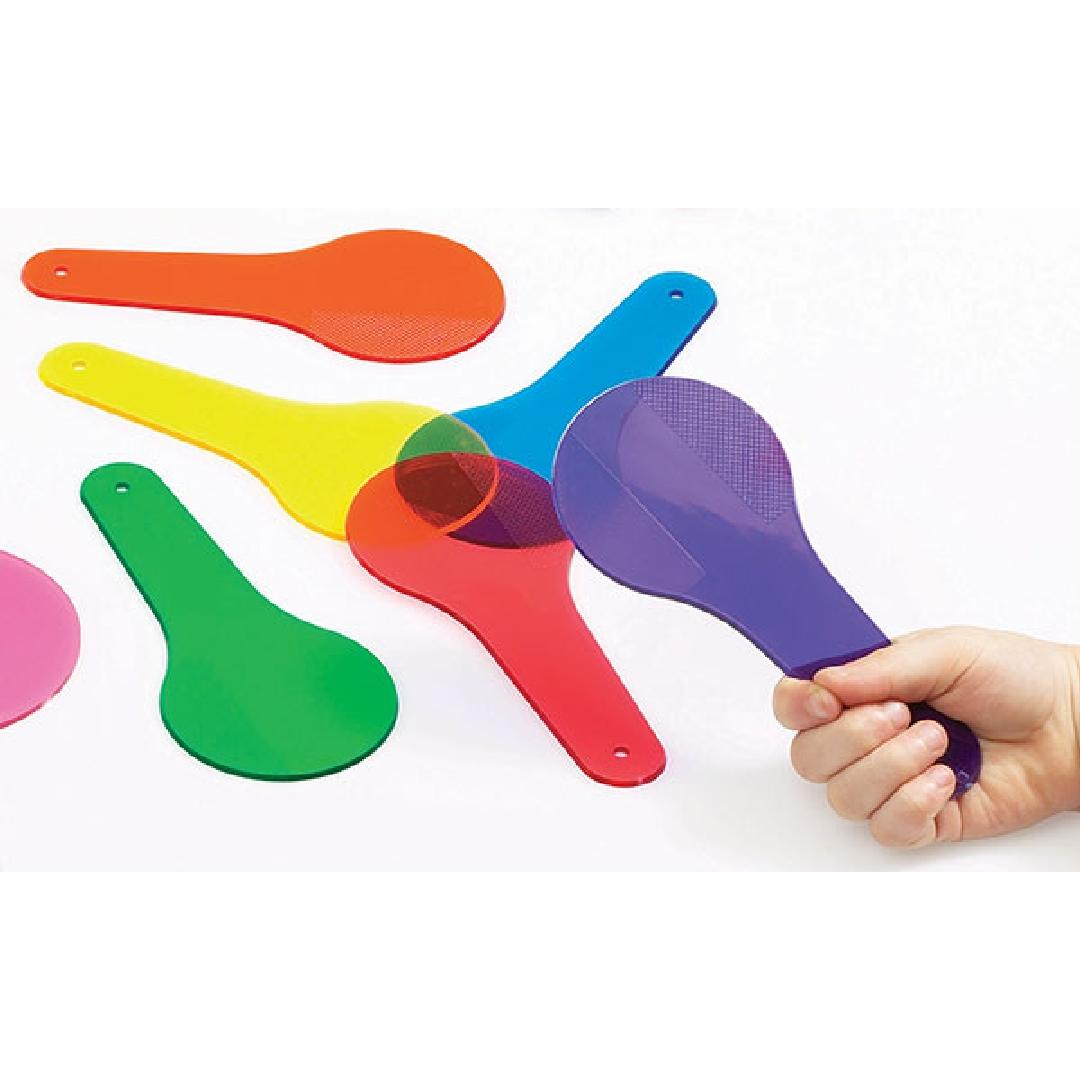 Colour Paddles (6pcs)