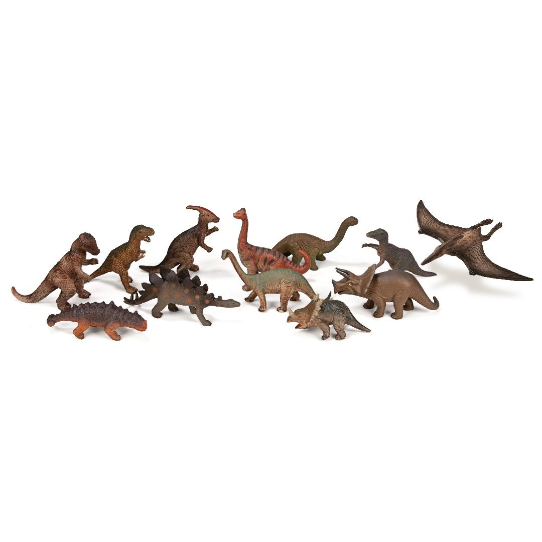 Dinosaur Figurines (12pcs)