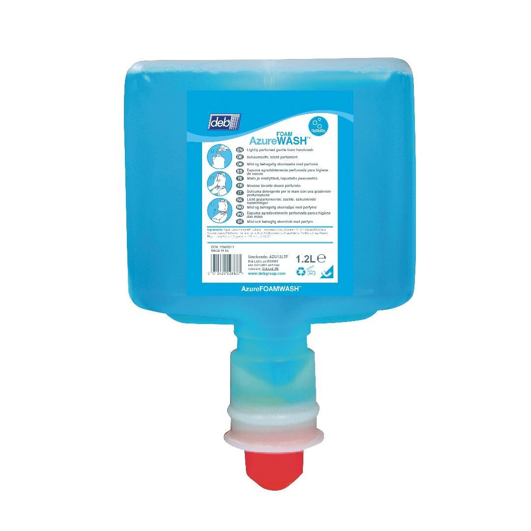 Deb TF Azure Foam Handwash (3x1.2L)