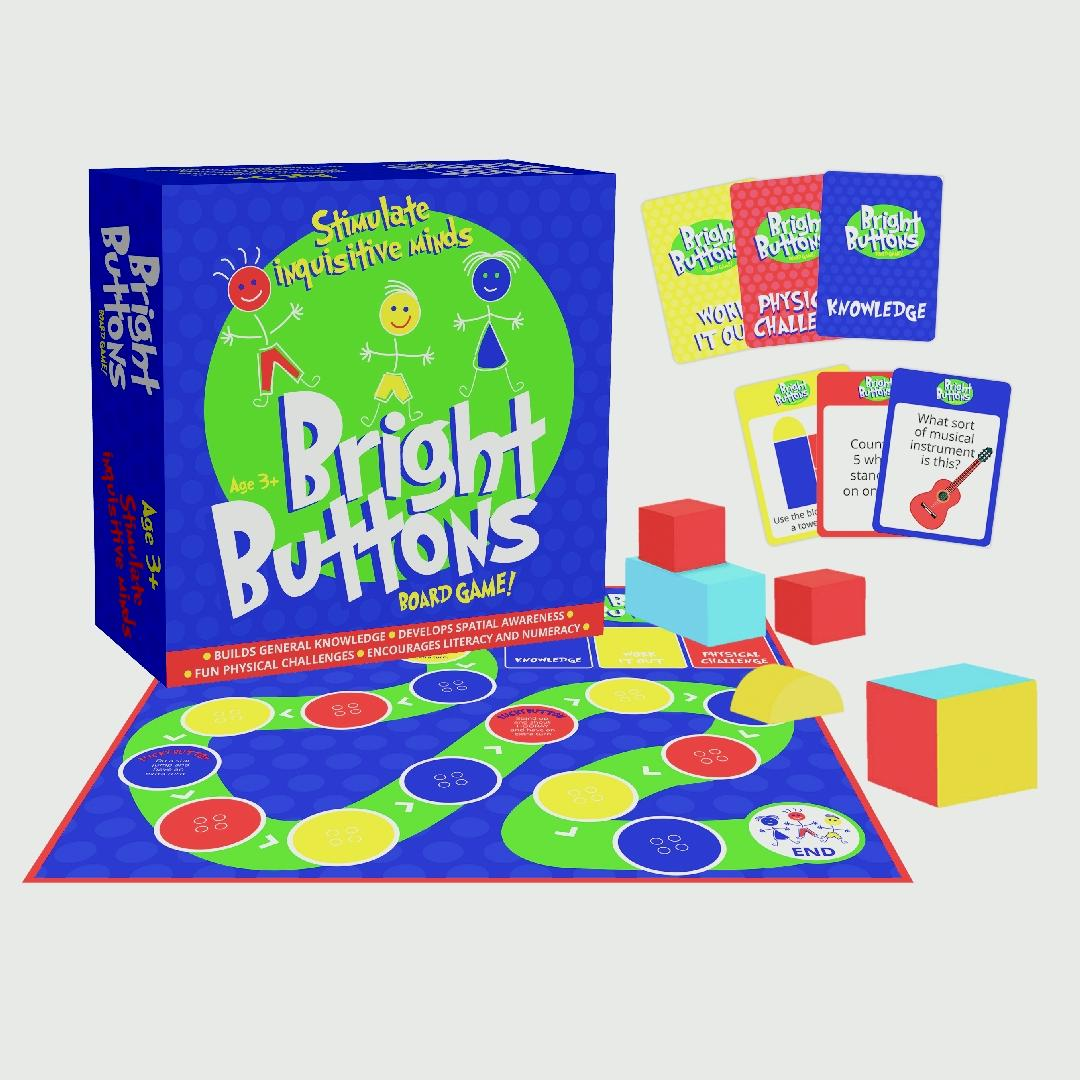 Bright Buttons Game