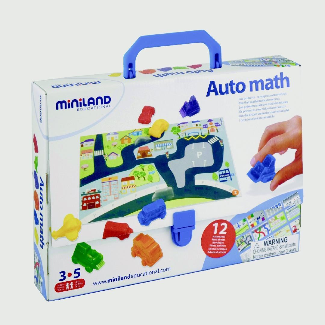 Sort & Count Vehicles Game (49pcs)