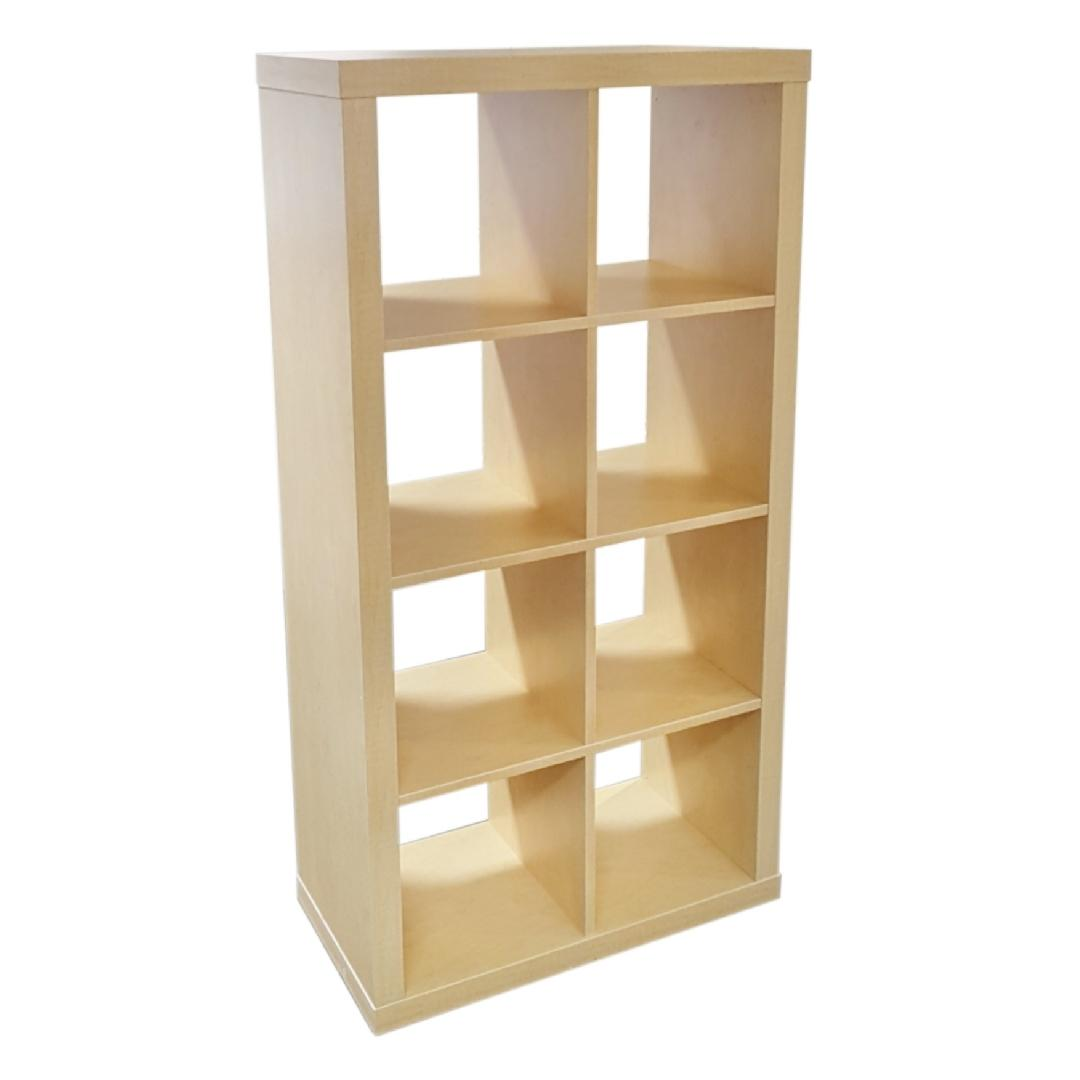 Cubic - 4x2 Open Cubby Unit Natural Birch