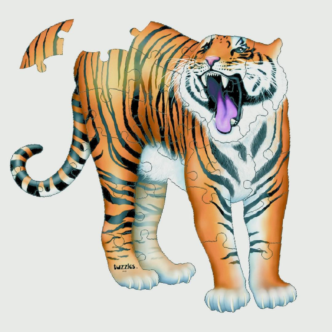 Tiger Floor Puzzle (31pcs)