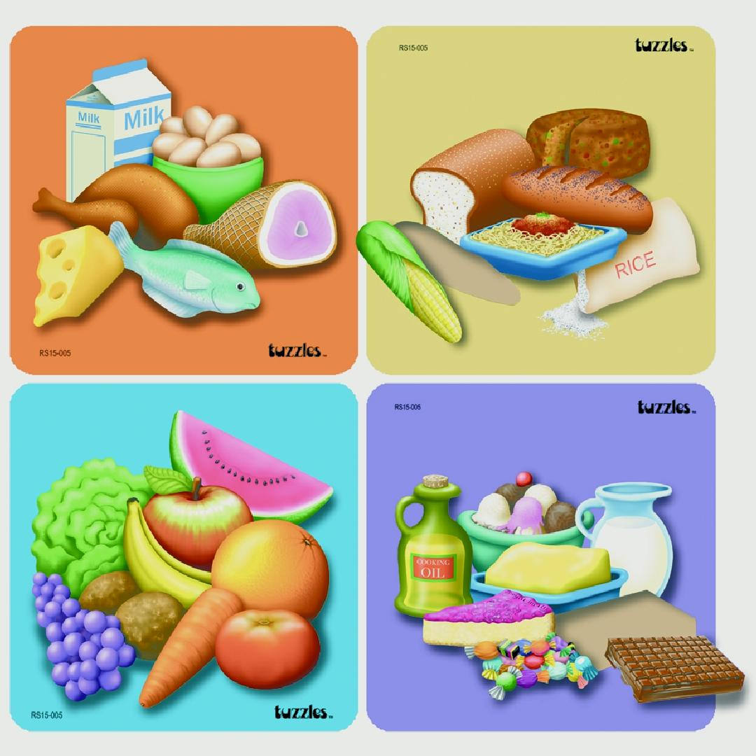 Good Food Guide Puzzle Set (Set of 4)