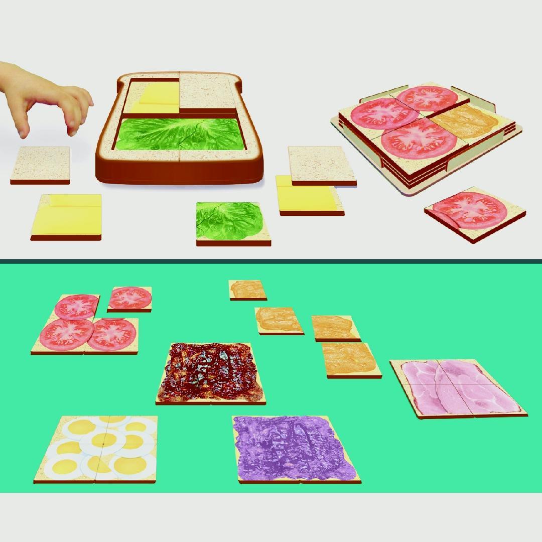 Toddler Sandwich & Fillings Puzzle (33pcs)