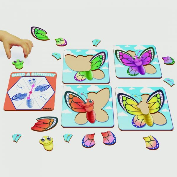 Build a Butterfly Puzzle