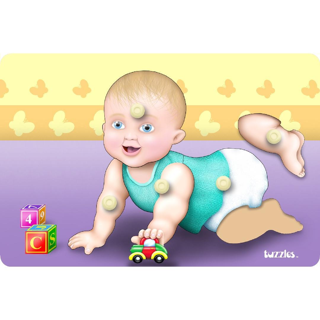 Crawling Baby Peg Puzzle