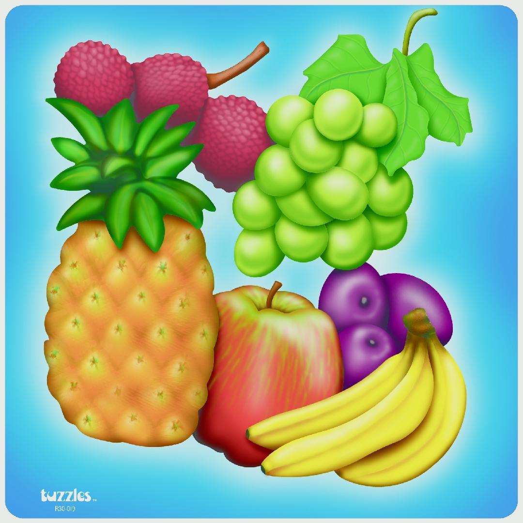 Fruit Raised Puzzle (17pcs)