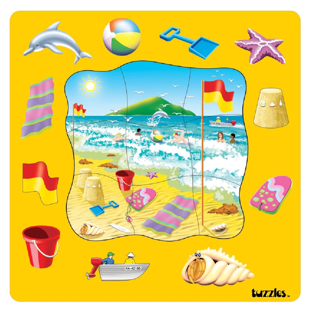 Place we Visit - Beach Puzzle (20pcs)