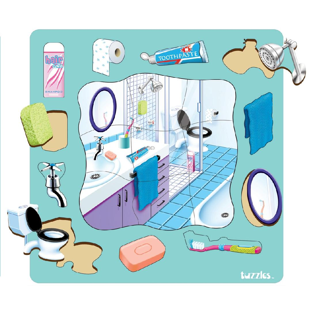 Bathroom Puzzle (20pcs)