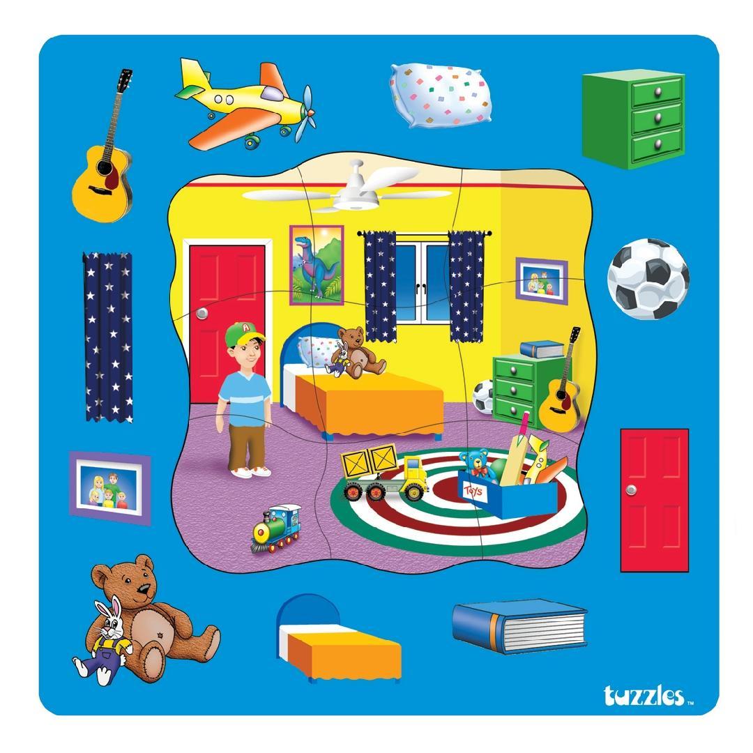 Bedroom Puzzle (20pcs)