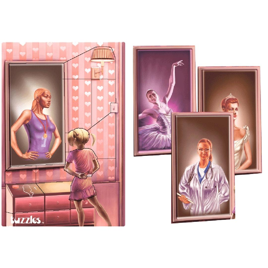When I Grow Up Girl Puzzle