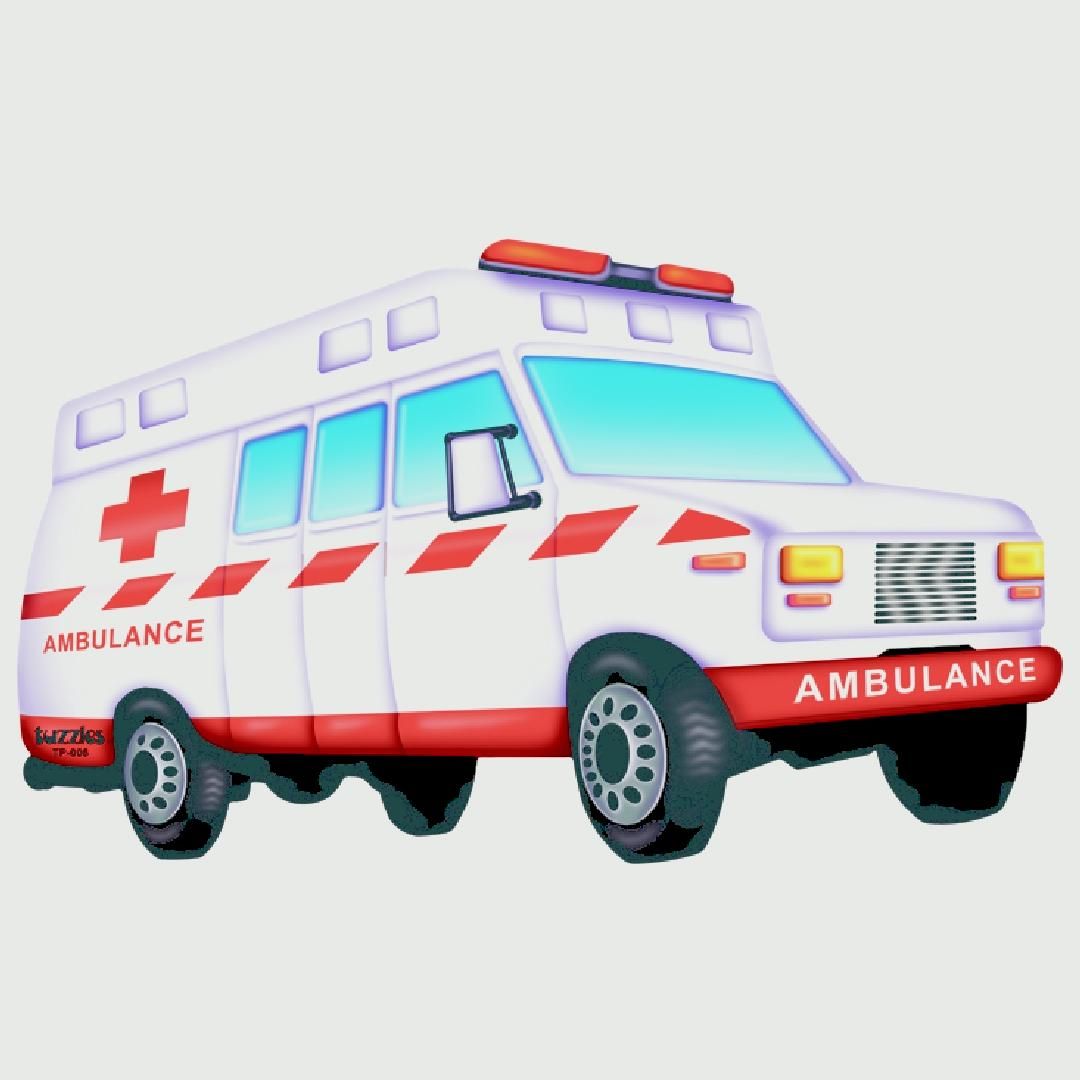 Ambulance Table Puzzle (7pcs)