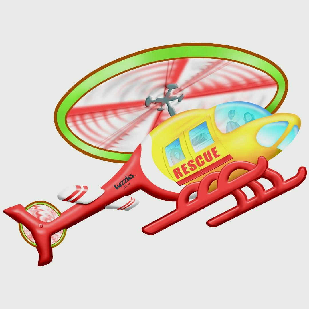 Rescue Helicopter Table Puzzle (12pcs)