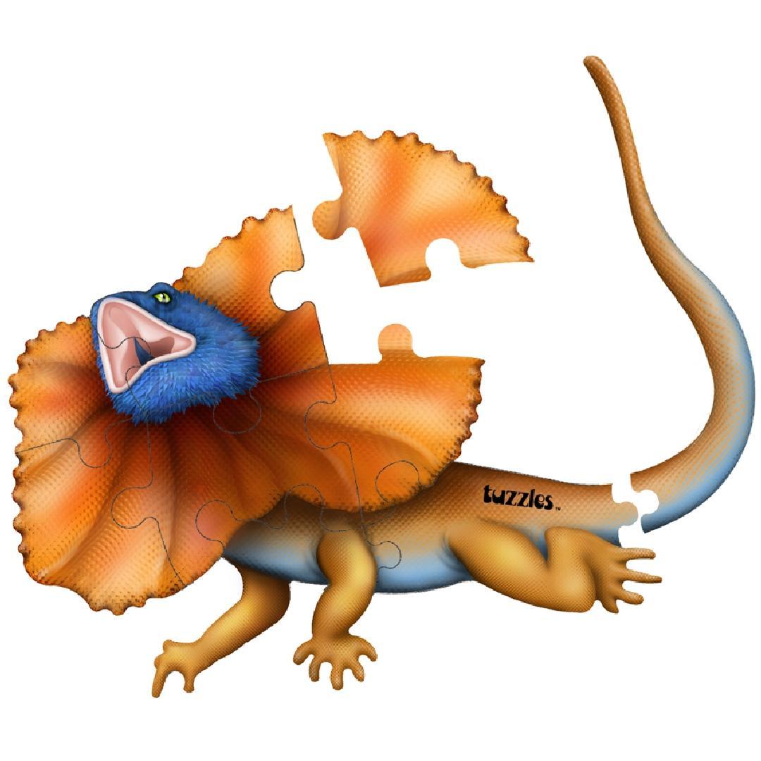 Frilled Neck Lizard Table Puzzle (9pcs)