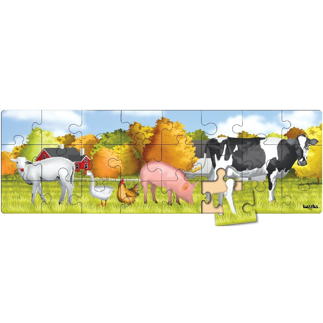 Farm Animals Puzzle Freize