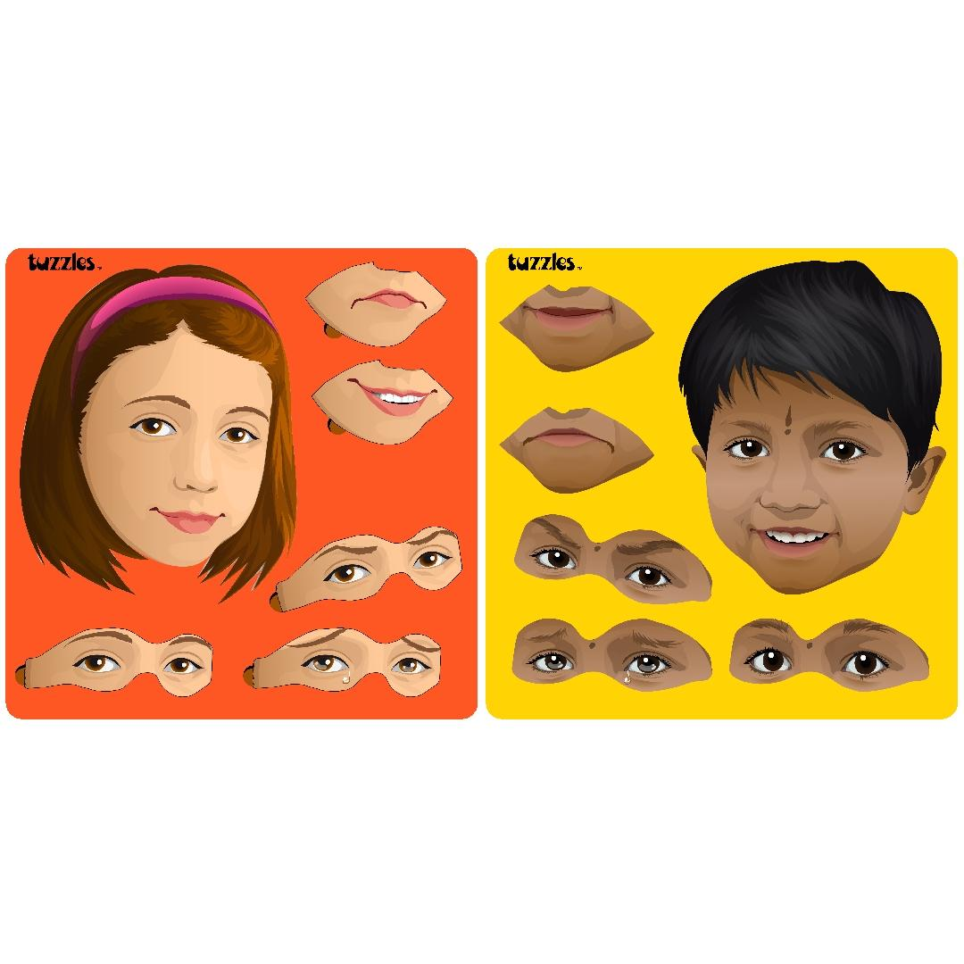 Boy & Girl Emotional Literacy Puzzles (Set of 2)