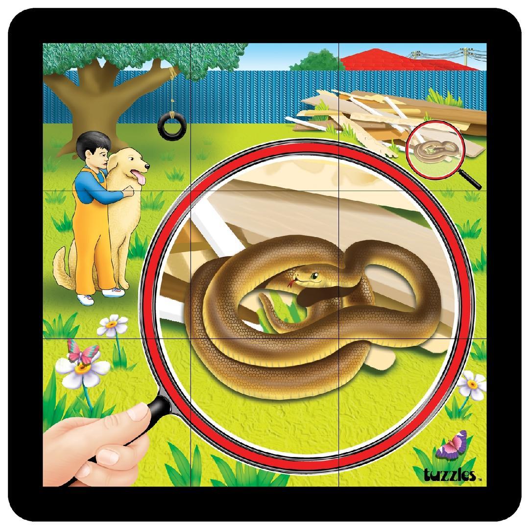 Snake Grid Puzzle (9pcs)