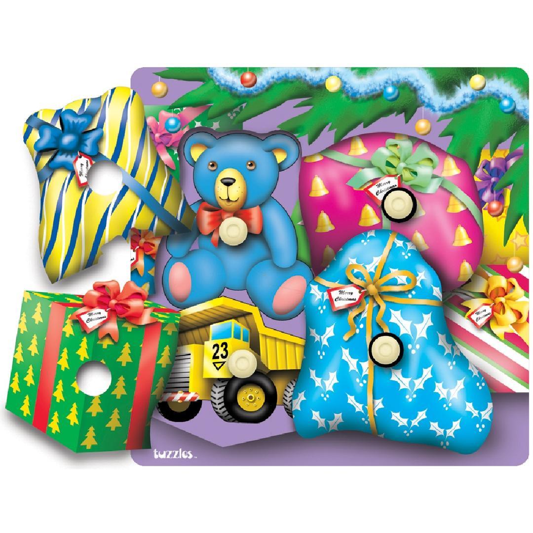 Christmas Surprise Knob Puzzle