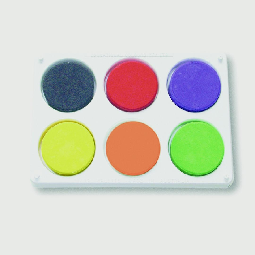 Tempera Palette & Tray Set
