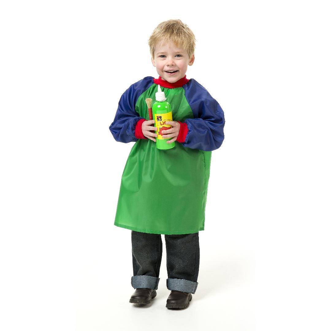 Quality Toddler Art Apron with Sleeves