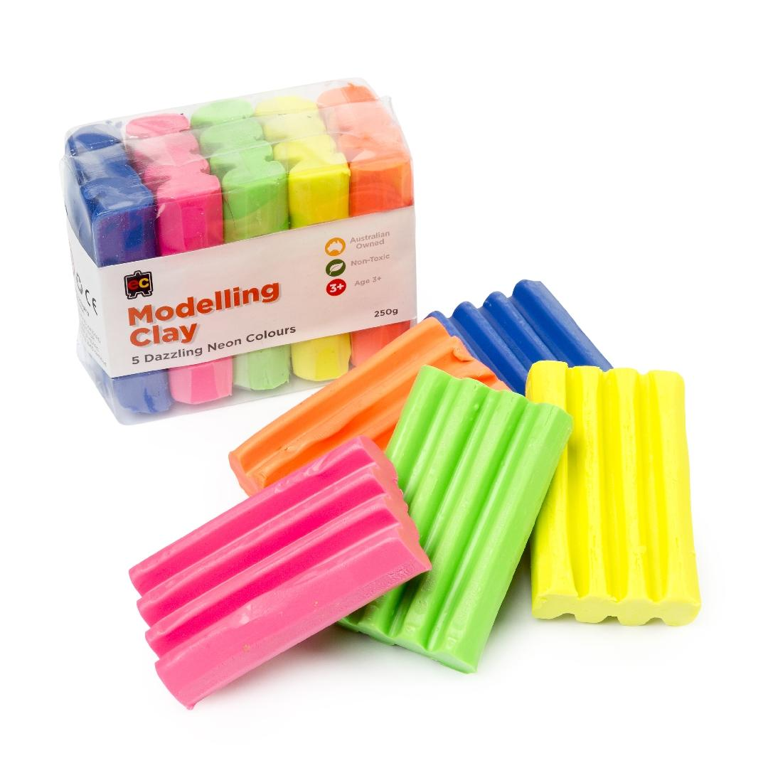 Fluorescent Modelling Clay (250g)