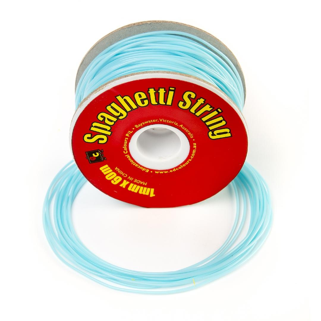 Spaghetti String Pale Blue (60m)