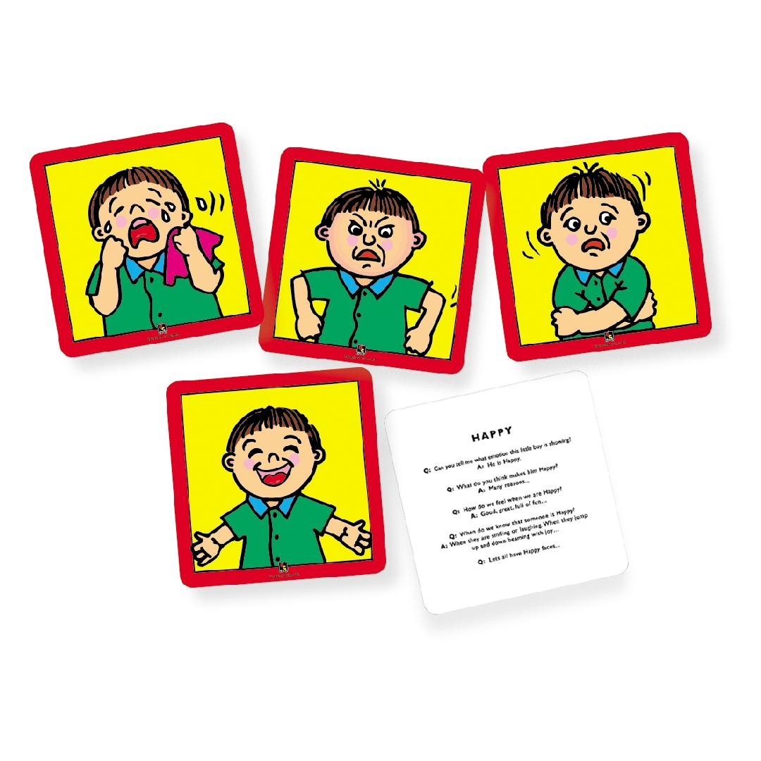 Feelings & Emotions Flashcards (Set of 10)