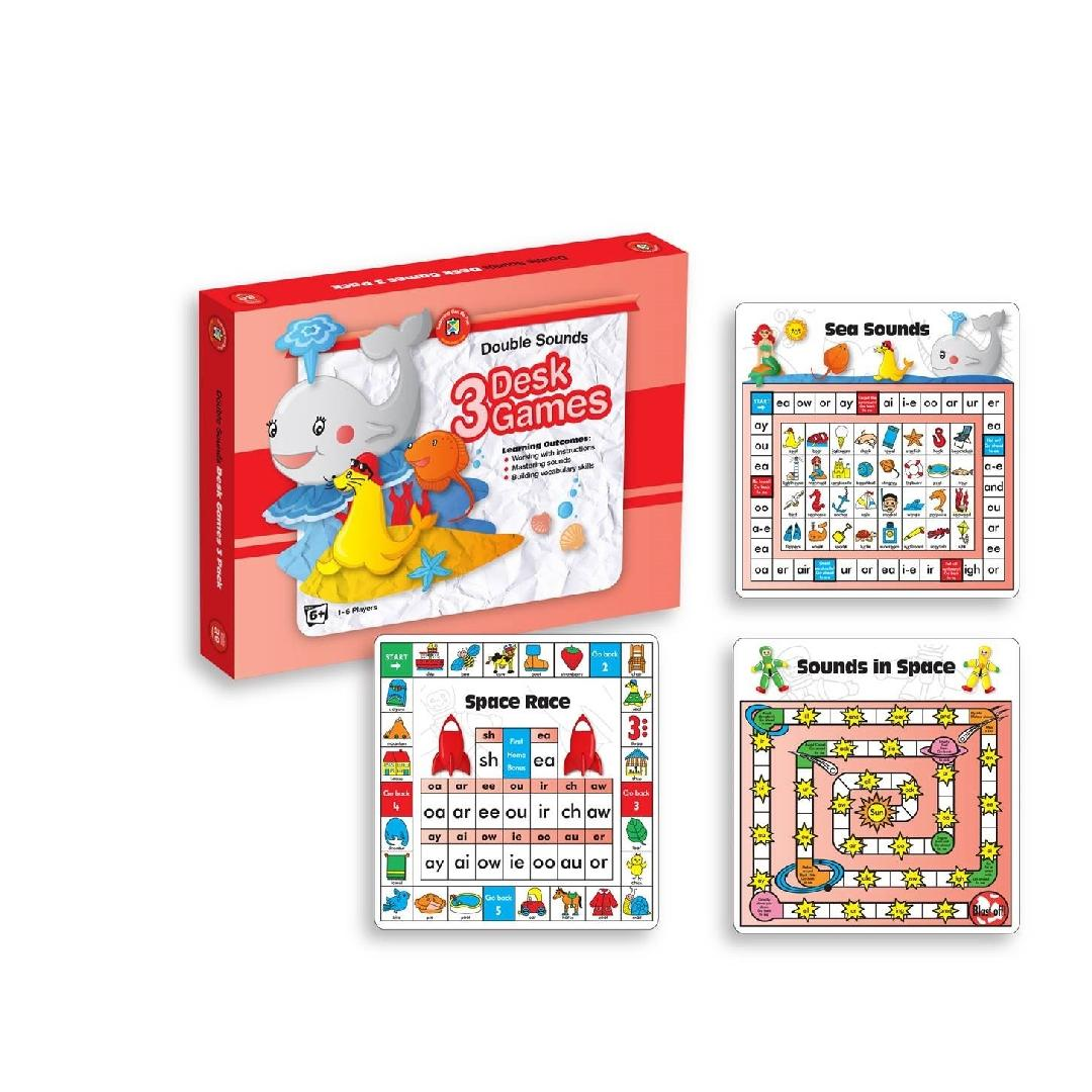 Double Sounds Desk Games (Box of 3)