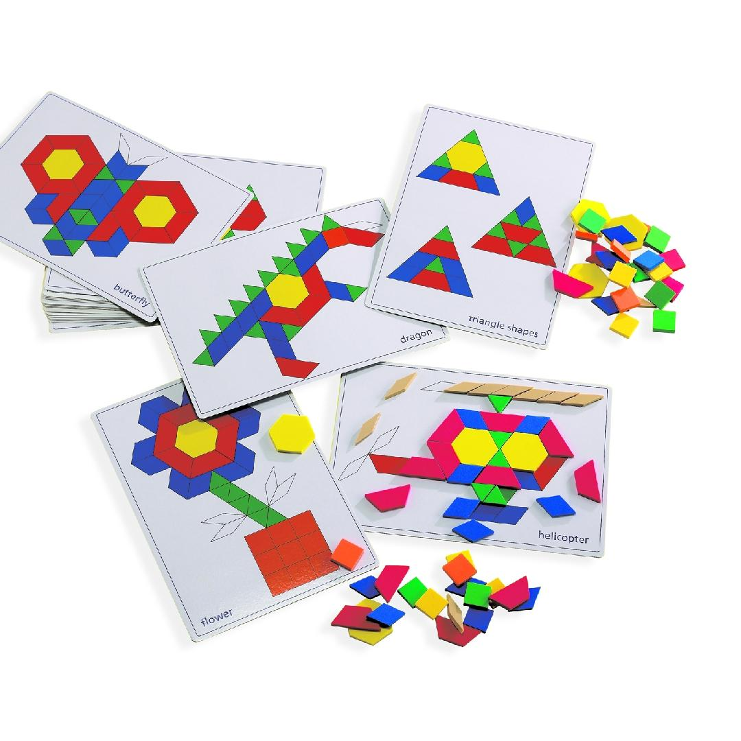 Pattern Block Card Set (Pack of 20)