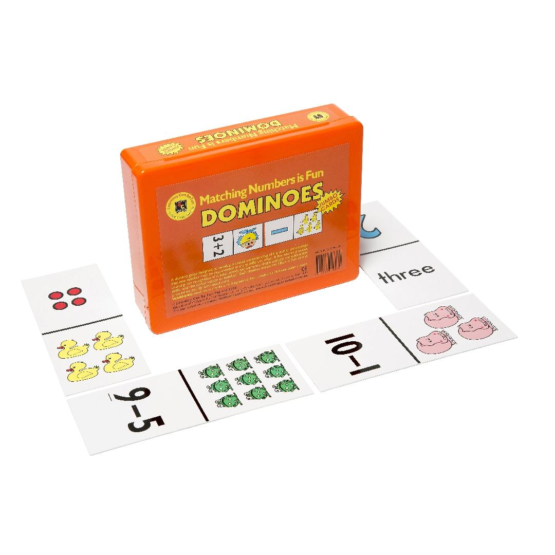 Matching Numbers is Fun Dominoes (40pcs)