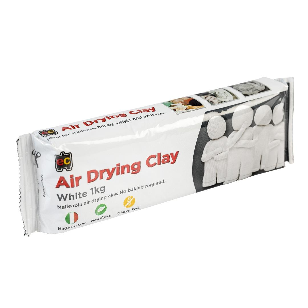 EC Air Drying Clay White (1kg)