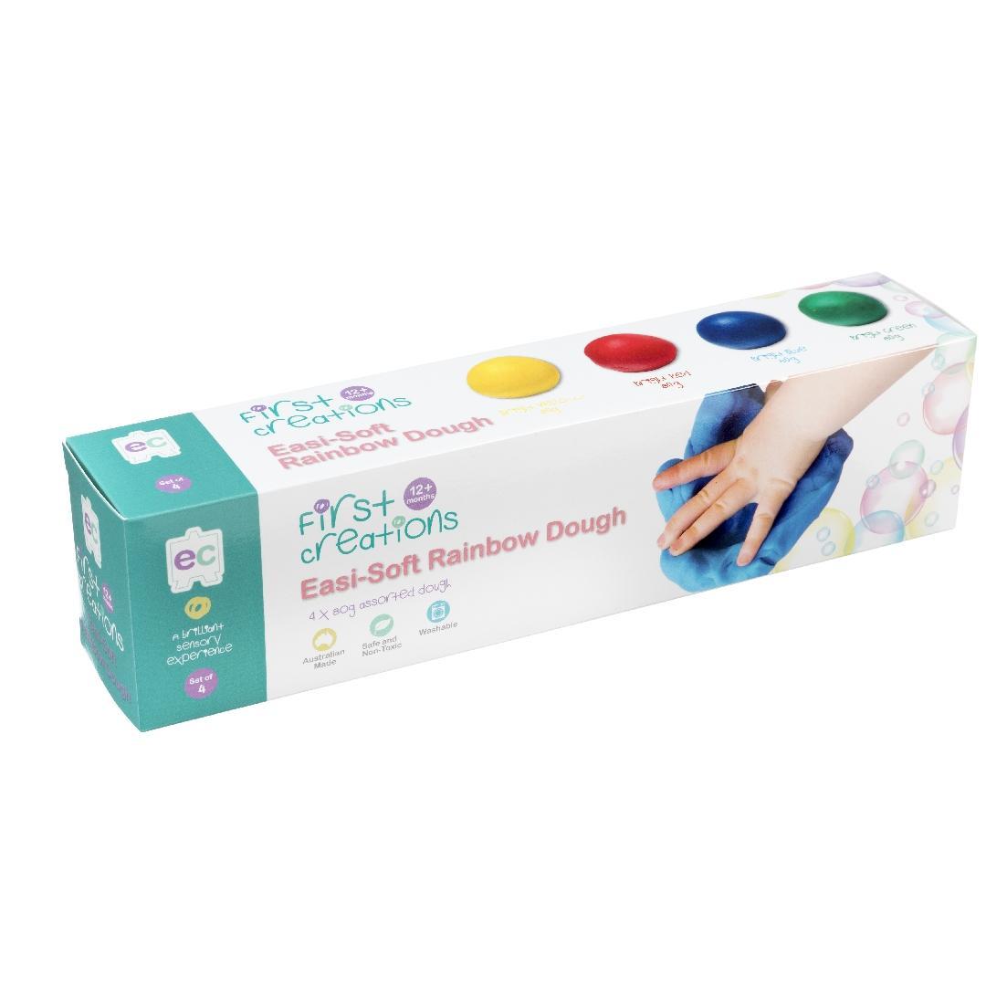 Easi-Soft Rainbow Dough (4pcs)