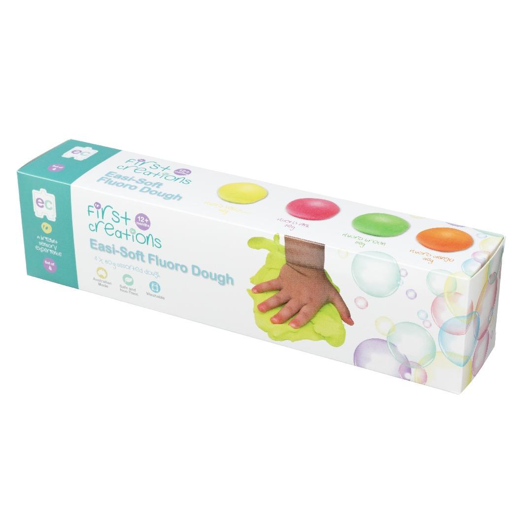 Easi-Soft Fluoro Dough (4pcs)