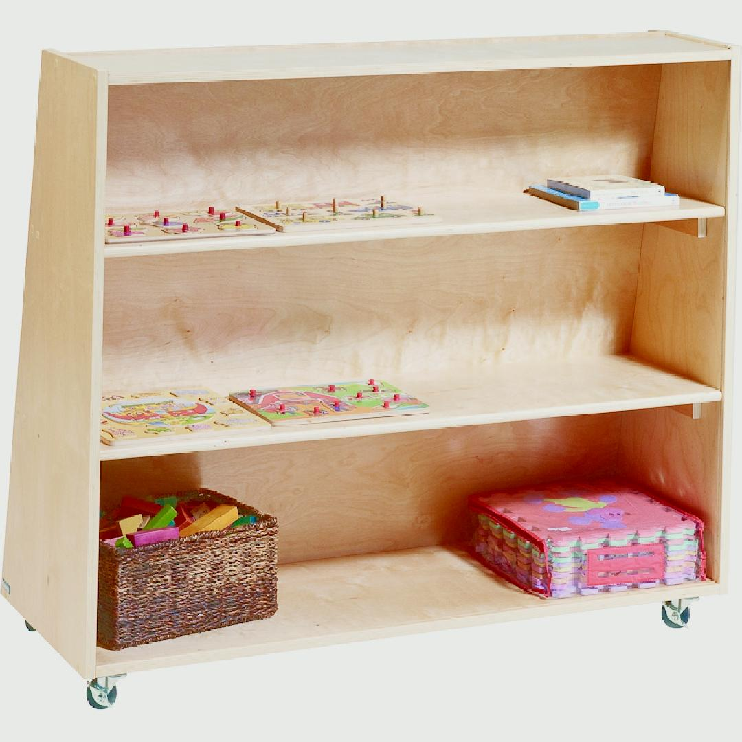 Birchwood Book Display & Storage Unit