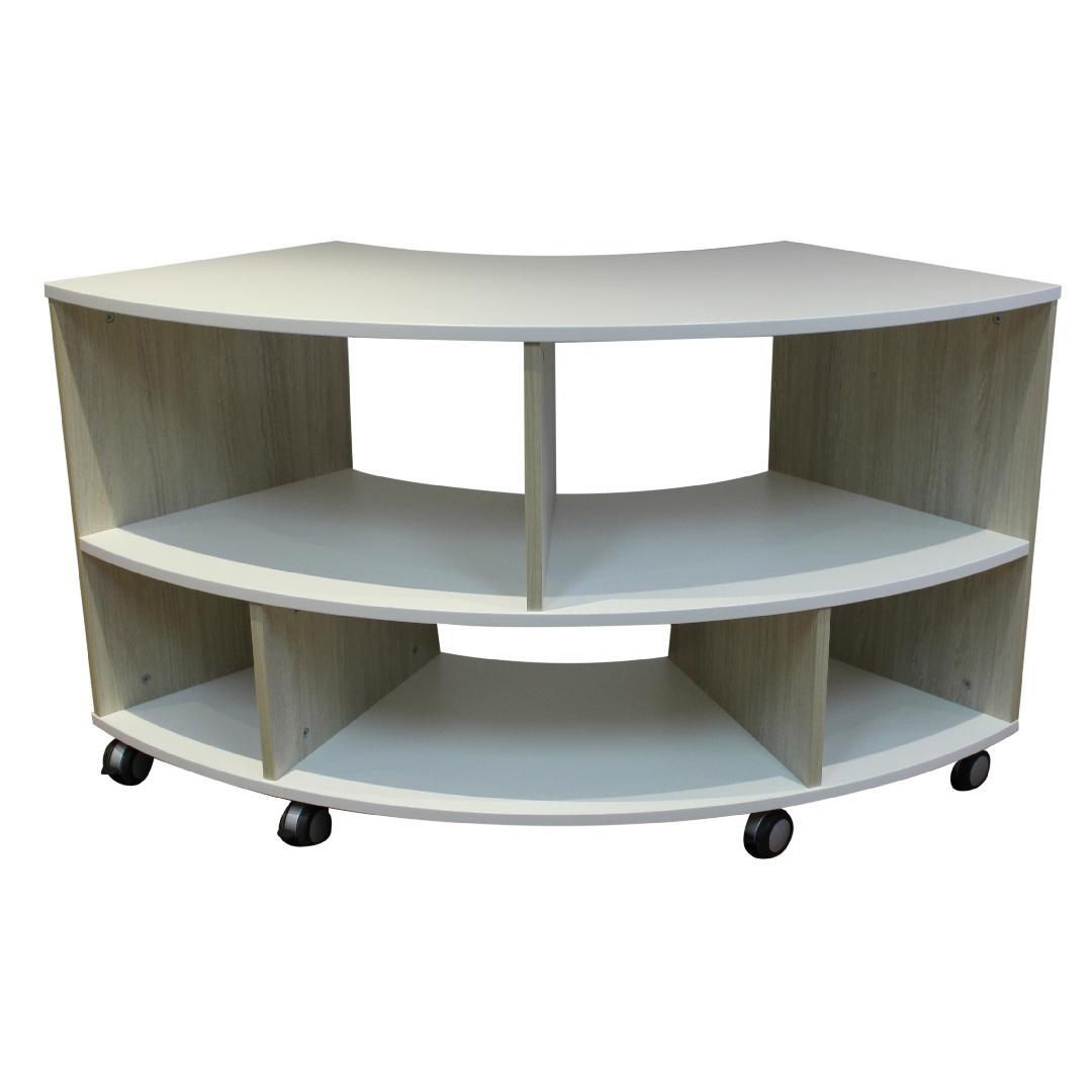 NaturalDesign Low Curved Shelf Unit