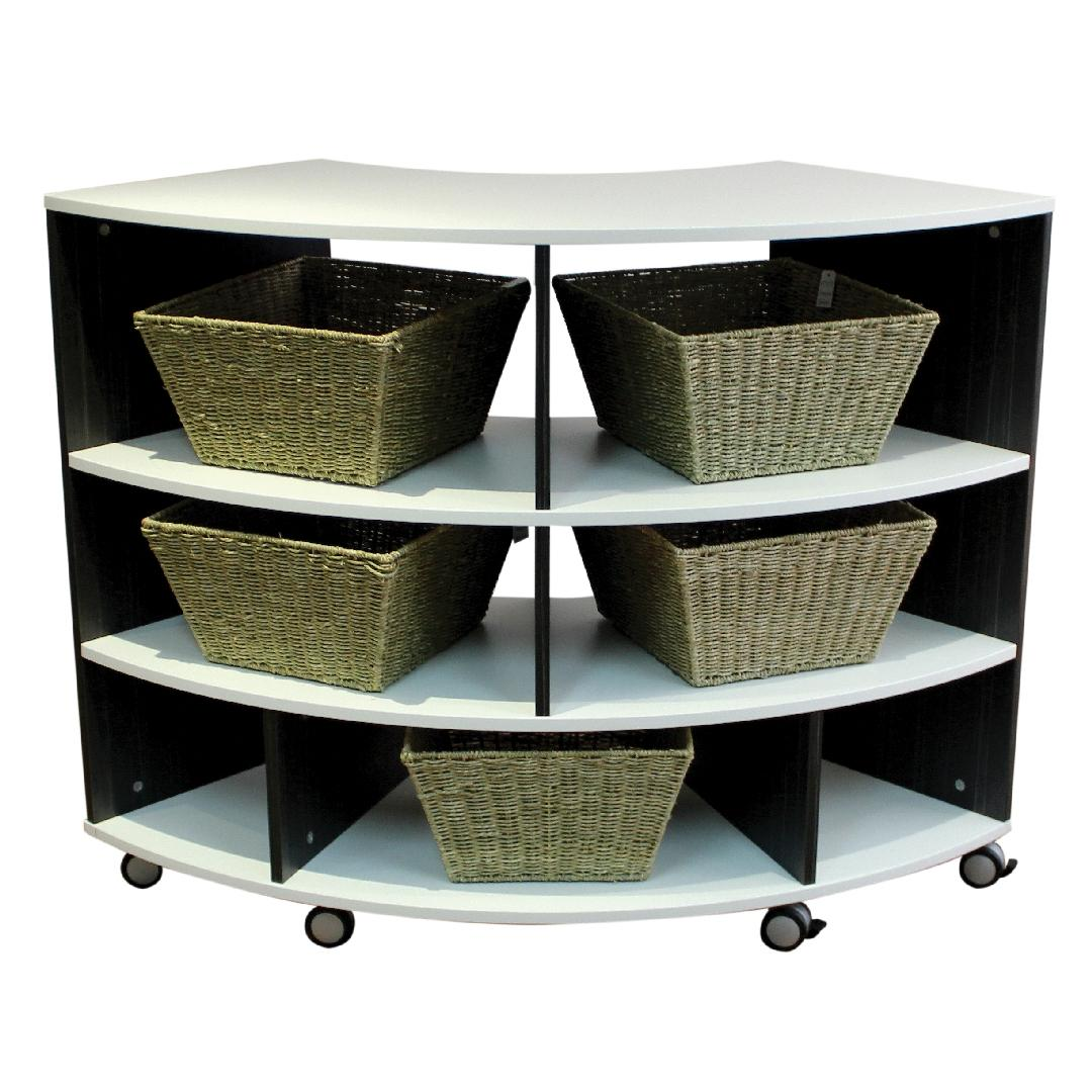 NaturalDesign Standard Curved Shelf Unit