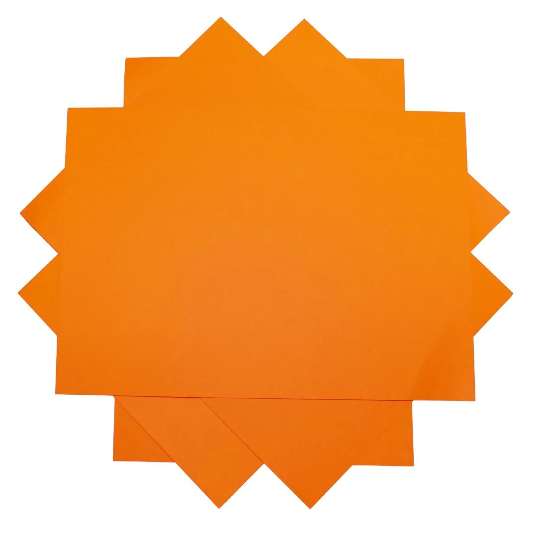 A4 Cover Paper Orange (500pcs)