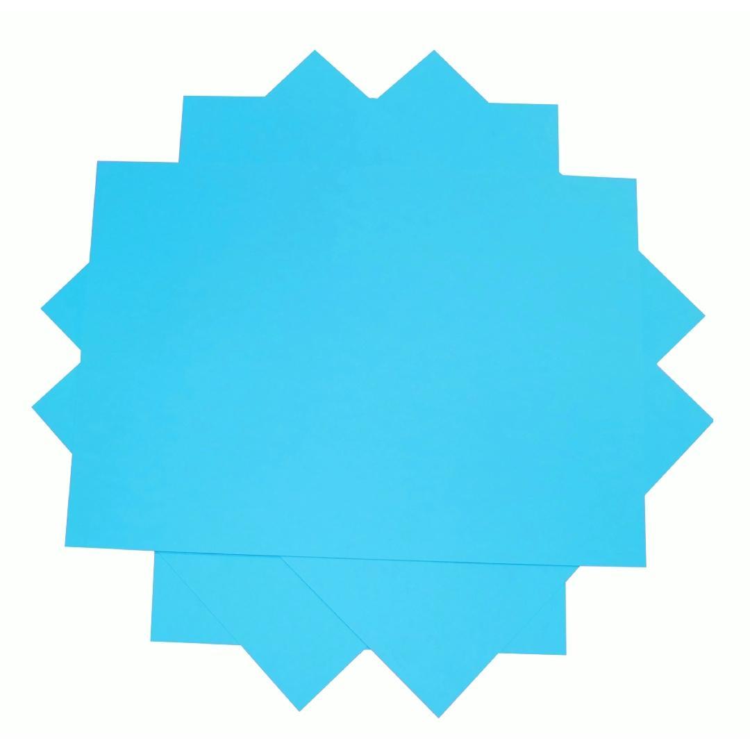 A4 Cover Paper Bright Blue (500pcs)