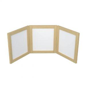 Birchwood 3 Panel Folding Mirror