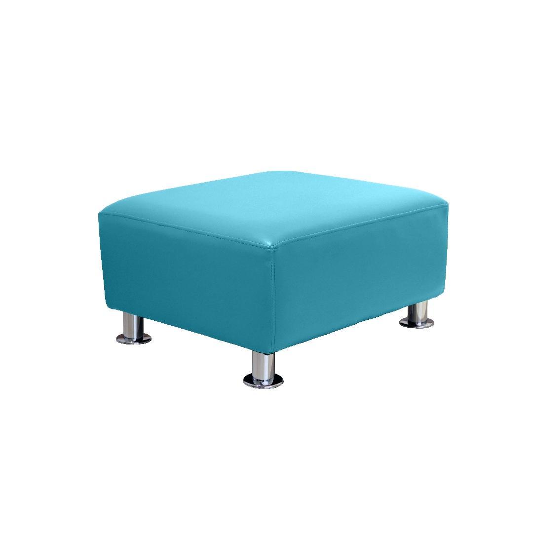 Modern Sofa Single Ottoman Ocean