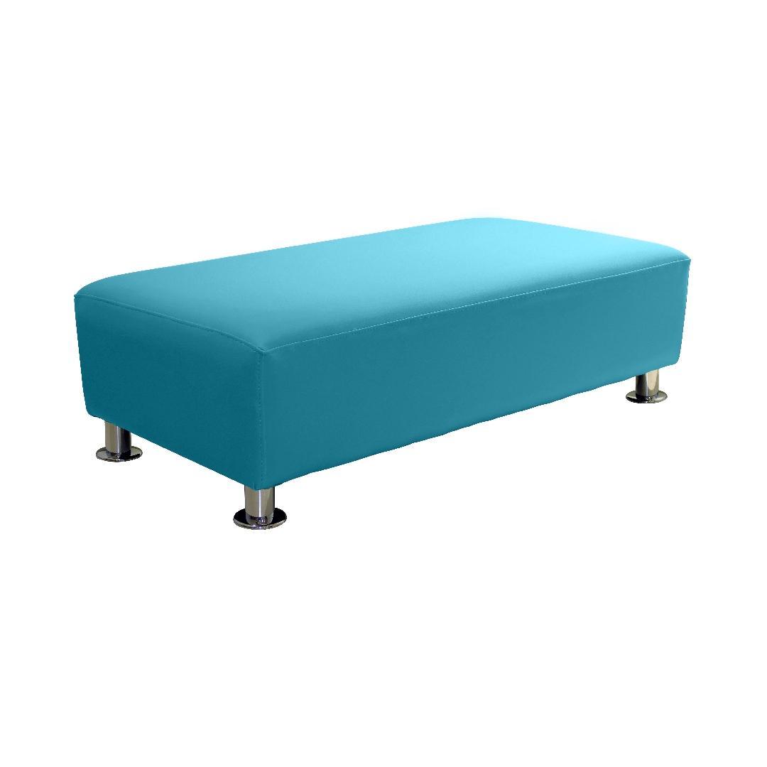 Modern Sofa Double Ottoman Ocean