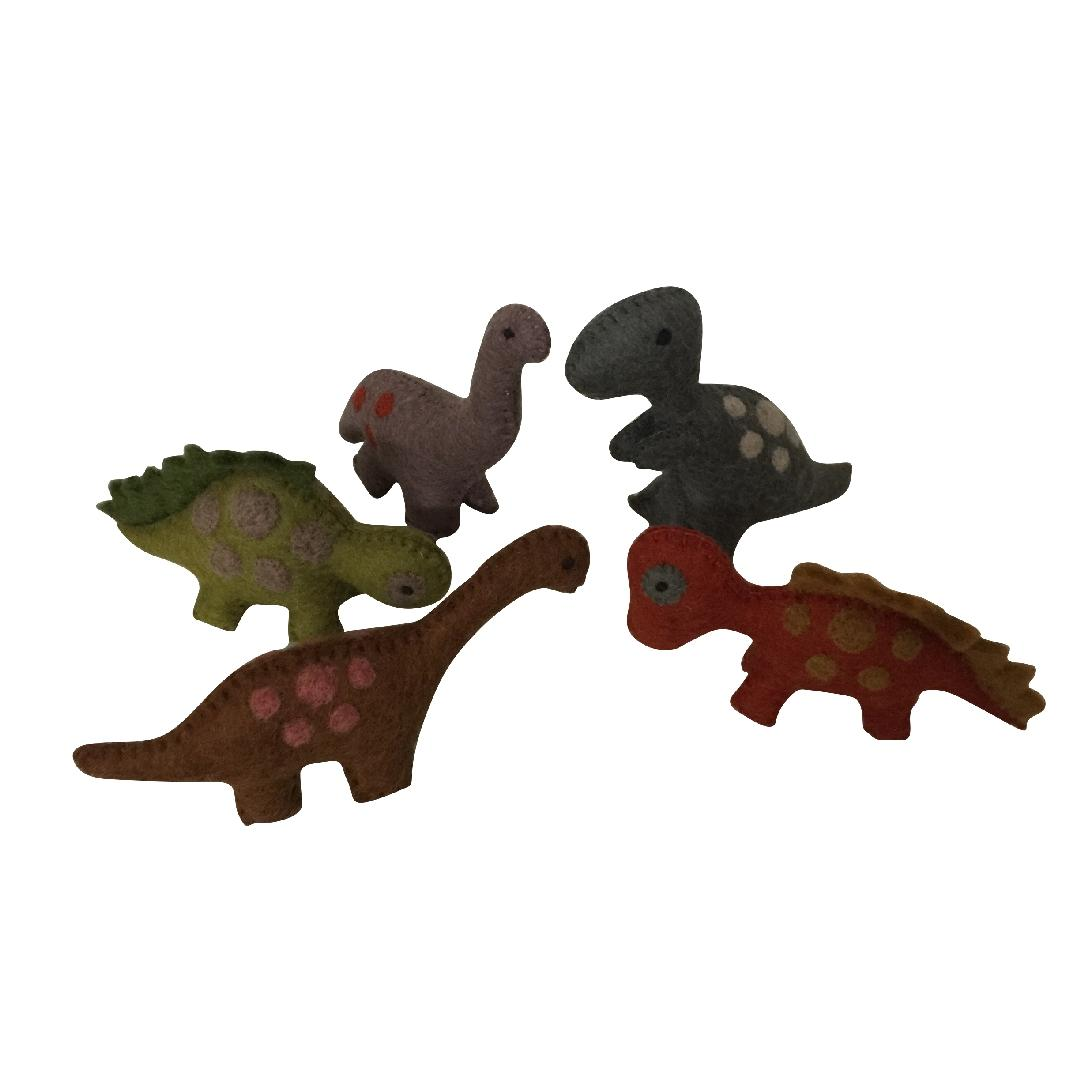 Felt Dinosaurs (Set of 5)