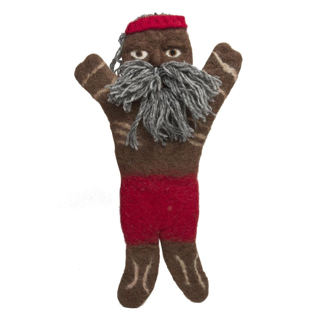 Felt Aboriginal Elder Hand Puppets (Set of 3)