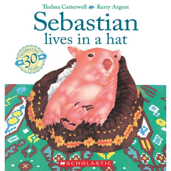 Sebastian Lives in a Hat Picture Book