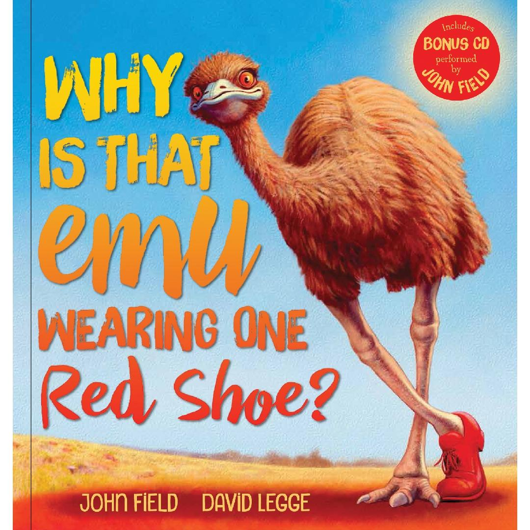 Why is That Emu Wearing One Red Shoes? Picture Book + CD