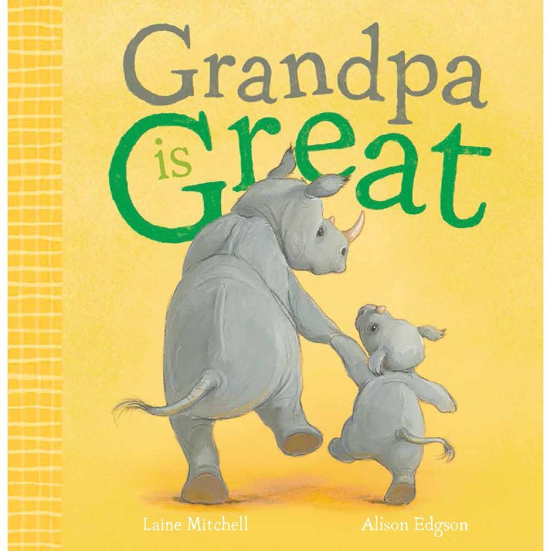 Grandpa is Great Picture Book